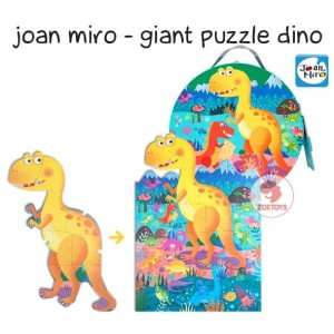 Zoetoys Joan Miro - Giant Puzzle Dino | mainan edukasi | mainan anak