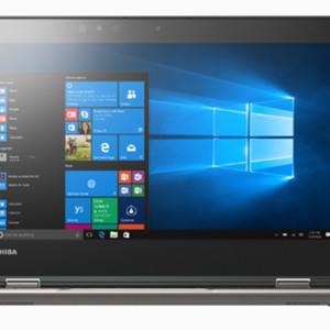 Laptop Toshiba Portege X20w X360 Touch I5 7200 8gb 256ssd W10 Fhd Tokopedia