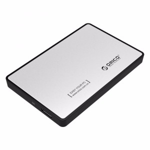 Orico 1 Bay 25 Sata External Hdd Enclosure With Usb 30 2569s3 Hitam Tokopedia