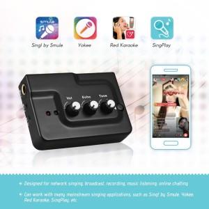 K3000 Live Sound Card Online Karaoke Singing Smartphone Android Apple Tokopedia