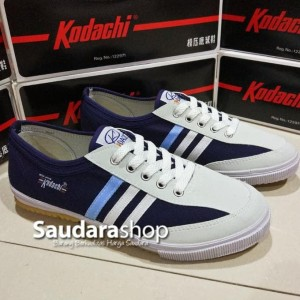 Sepatu Capung Kodachi 8112 Navy Tokopedia