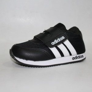 Sepatu Adidas Anak Hitam Lis Putih Adidas Kids Tokopedia