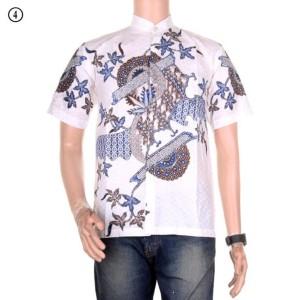 Baju Koko Batik Prasaja Motif 2 Tokopedia