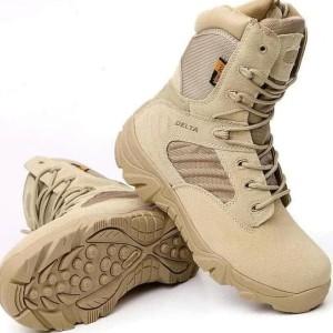 Sepatu Delta Coklat Gurun 516 Tinggi Tokopedia