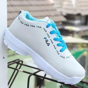 Sepatu Fila Cewek Biru Tokopedia