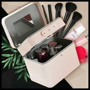 Sale Kotak Kosmetik Tas Kosmetik Beauty Case Kain Sedang Tokopedia