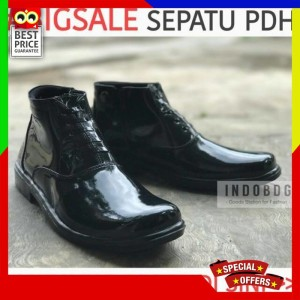 Sepatu Pdh Original Mengkilap Tokopedia