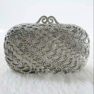 Jual Clutch Premium Tas Branded Mirror Party Bag Dompet Pesta Swarovski 50422c31bd