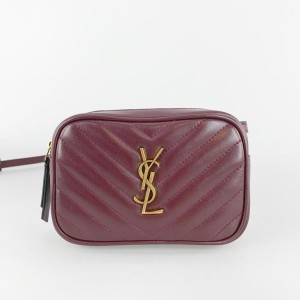 Jual Tas YSL lou chevron belt bag in metallase swift original leather 15cm 08d3776745