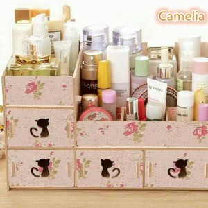 Rak Kotak Tempat Kosmetik Perhiasan Organizer Ya25 Tokopedia