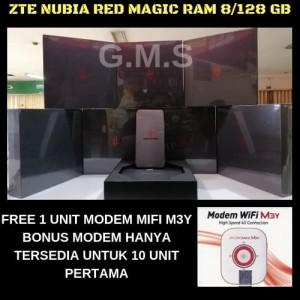 Gaming Phone Zte Nubia Red Magic Ram 8gb Rom 128gb Tokopedia
