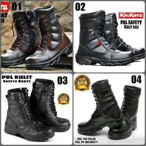 Sepatu Safety Kulit Murah Tokopedia