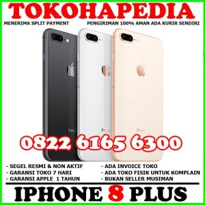 Iphone 8 Plus 64 Gb Camera Silent Original Mulus Fullset Tokopedia