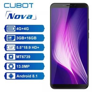 Cubot Nova 3gb 16gb 4g Lte Tokopedia