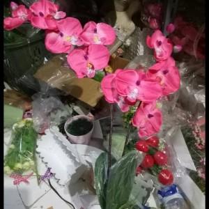 Bunga Anggrek Artificial Untuk Dekorasi Rumah Bunga Pajangan Bu11 ... a6b848e4ee