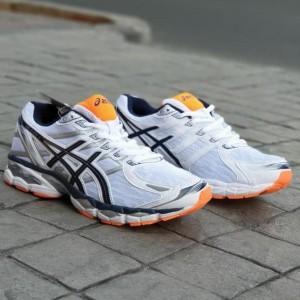 Asics Gel Nimbus 16 Sepatu Tenis Volly Running Casual Olahraga Sport Pria Tokopedia