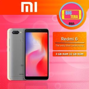 Xiomi Redmi 6 Ram 3gb Internal 32gb Tokopedia