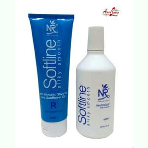 NR Silky Smoothing,obat pelurus Rambut, Smoothing keratin(netral+obat)