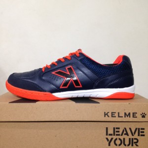 Sepatu Futsal Kelme Landprecision Navy Red 1110107 Original Bnib Tokopedia