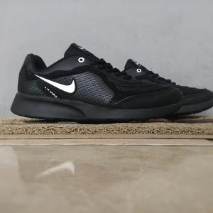 Sepatu Sport Nike Airmax 2016 Black Kets Casual Cowok Tokopedia