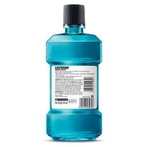 Listerine Cool Mint 500ml 2 Pcs Tokopedia