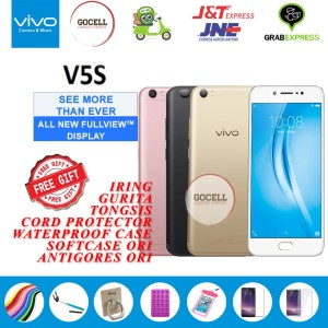 Vivo V5s Ram 4gb 64gb Gold Pemakaian Lancar Aja Murah Tokopedia