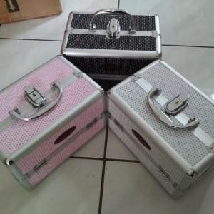 Kotak Kosmetik Kotak Makeup Beauty Case Tas Kosmetik Tokopedia