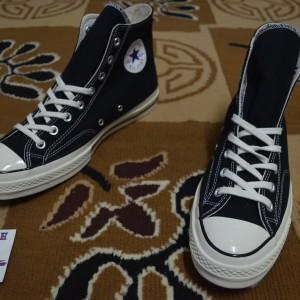 Jual Sepatu Converse Allstar CTAS 70s HI Black White Original murah No Nike 0b4d62d248