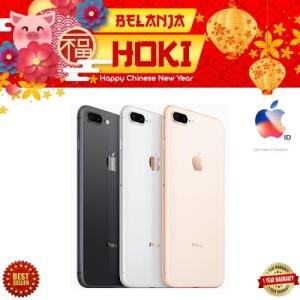 Iphone 8 Plus 64gb Grey Second No Minus Tokopedia