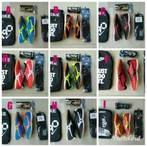 Paket Sepatu Futsal Bahan Kulit Lembu Tokopedia
