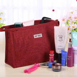 Promo Simple Cosmetik Pouch Tas Kosmetik Denim A591 Tokopedia