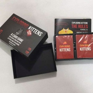 Exploding Kittens Red Board Game Harga Promo Tokopedia