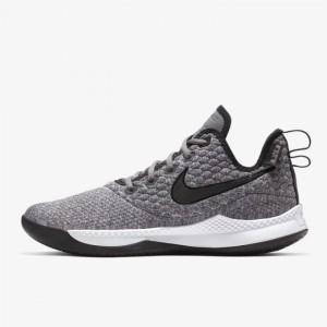 851bebd1ebe Sepatu Basket Nike Lebron Witness 3 EP Dark Grey Original AO4432-002