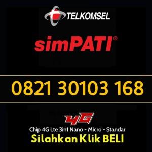Jual Nomor Cantik Simpati 4G LTE 0821 30103 168 #MomenHoki