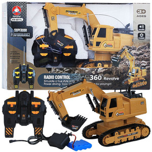 [HARGA PROMO] Mainan Remote Control RC Excavator Heavy Machine Digger