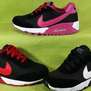 Sepatu Anak Nike Airmax Sekolah Cewek Cowok Casual Olahraga Tokopedia