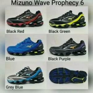 Sepatu Mizuno Wave Prophecy 6 Original Made In China BNIB