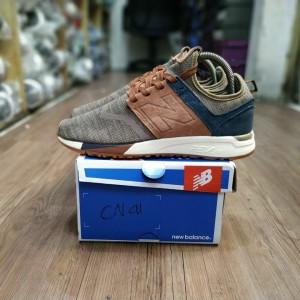 Jual New Balance 247 Luxe Brown Knit Premium BNIB Sepatu Sneakers NB pria
