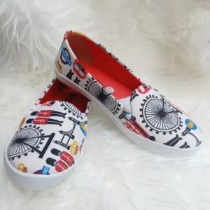 Sepatu Anak Perempuan Slip On Lucu Sepatu Slip On Anak Perempuan Tokopedia