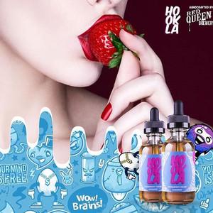 Hookla Strawberry Cream Crackers 60ML by Red Queen Juice Liquid Hookla