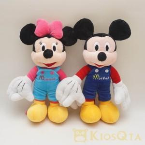 Jual boneka mickey dan minnie couple kostum jumper overall baju kodok M c49bc1f478