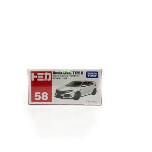 HONDA Civic Type R 58 white Tomica Reguler
