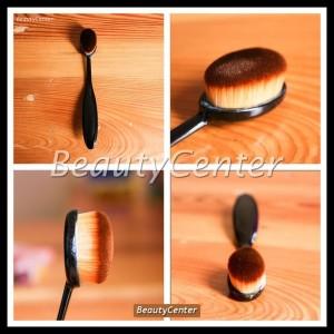 Sale Oval Foundation Face Brush Make Up Kosmetik Face Foundation Tokopedia