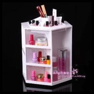 Hot Sale Rak Kosmetik 360 Hitam Tokopedia