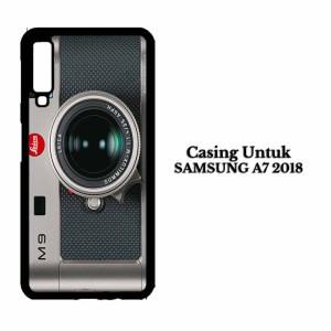 Casing HP SAMSUNG A7 2018 leica m9 Custom Hard Case Cover