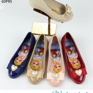 Sepatu Anak Perempuan S6678 T668 Wedges Frozen Heels Tokopedia