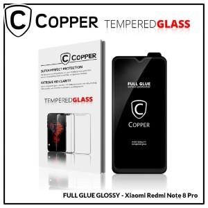 Redmi Note 8 Pro - COPPER Tempered Glass FULL GLUE PREMIUM GLOSSY