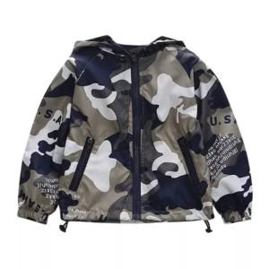 jaket bayi boy army dengan hoodie keren