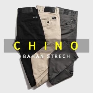 Celana Chino Panjang Pria Bahan STRECH Premium