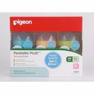 Pigeon Botol Wideneck 160ml Banded 2+1